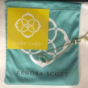 NWT. Kendra Scott Elaina bracelet. December stone.
